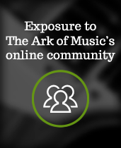 Exposure to The Ark of Music's online community