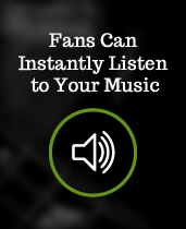 Listeners can preview your music